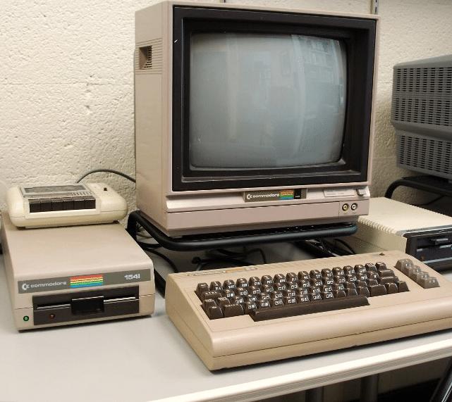 spelcomputer commodore 64